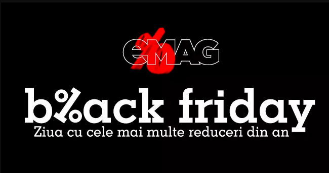 Black Friday eMAG 2018